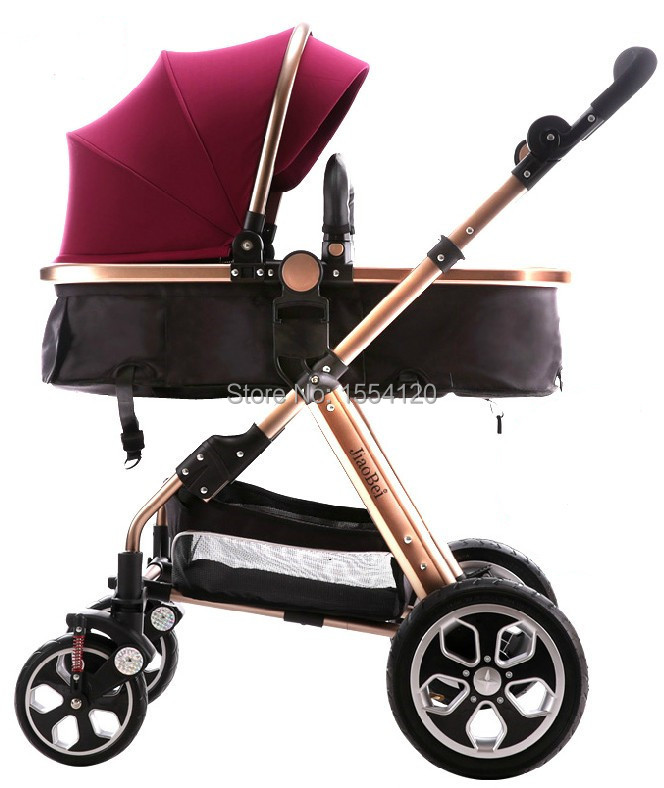 Online Shop Baby Stroller Carriage for Newborn Baby Car Suspension ...