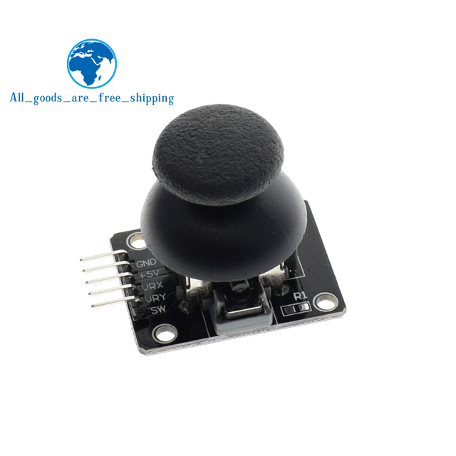 For Arduino  Dual-axis XY Joystick Module Higher Quality  PS2 Joystick Control Lever Sensor KY-023 Rated 4.9 /5