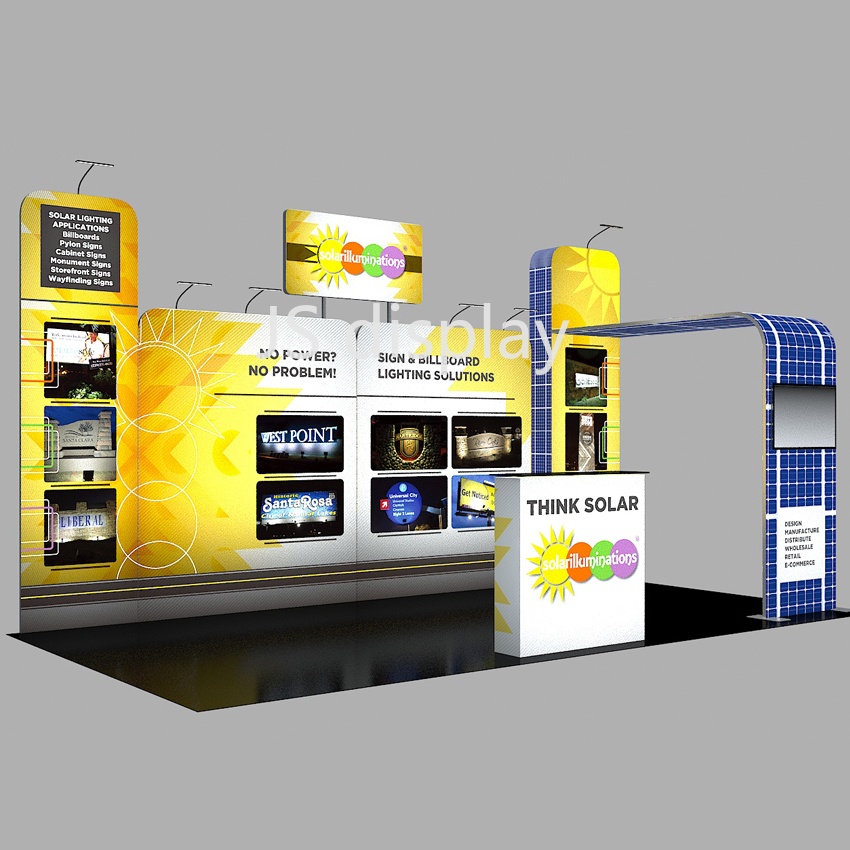 20ft Portable Trade Show Booth Pop Up