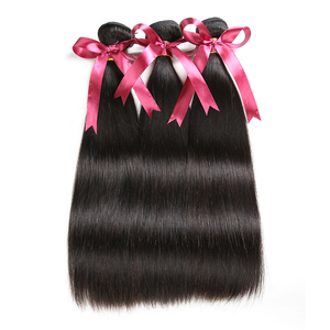 Image 2 - Karizma Brazilian Straight Hair Bundles With Frontal 13x4 Closure 100% Human Hair Bundles With Frontal Remy Hair Extension