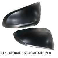 CITYCARAUTO CAR STYLING FOR FORTUNER REAR MIRROR COVER DOOR REARVIEW MIRROR COVER FIT FOR TOYTA FORTUNER
