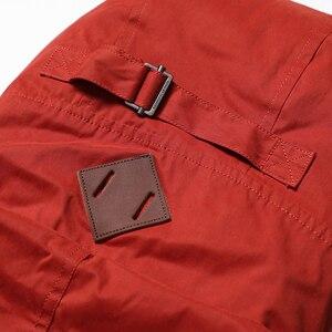 Image 4 - Мужская теплая длинная куртка SIMWOOD, модная толстая повседневная парка, брендовая одежда высокого качества, новая модель MF950