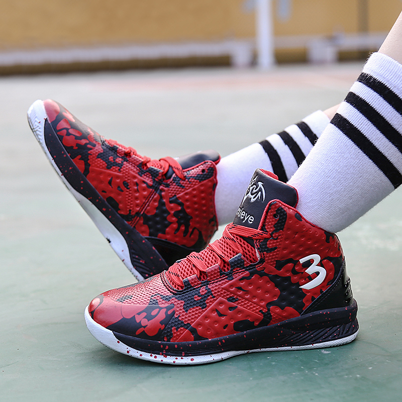Купить с кэшбэком Best Selling Boys For Sneakers Spring Running Shoes For Children Anti-Slippery Children Sport Shoes Lace Up Gym Shoes For Kids