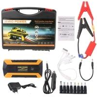OOTDTY 69900mAh 89800mAh 4 USB Portable Car Jump Starter Pack Booster Charger Battery Power Bank EU
