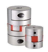 Free Shipping 8 8MM Couplers Can Do As Your Requires Size Shaft Couplings OD40mm L55mm Flexible