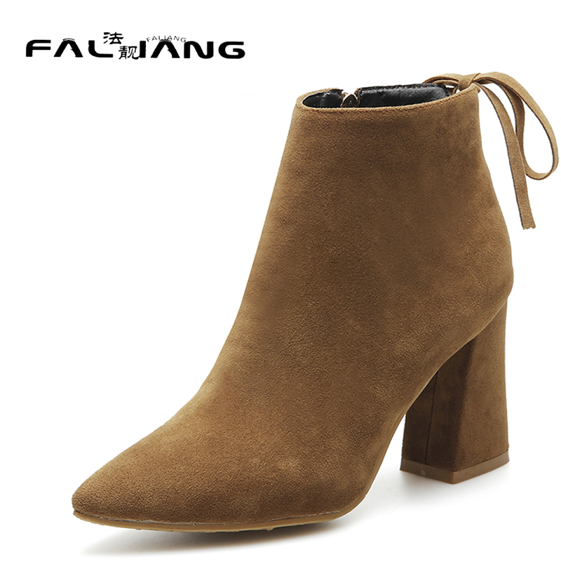 New arrival Big Size 11 12 13 14 15 fashion women shoes Short Plush woman Flock ladies Non-slip womens thick high Winter Boots new 2017 spring summer women shoes pointed toe high quality brand fashion womens flats ladies plus size 41 sweet flock t179