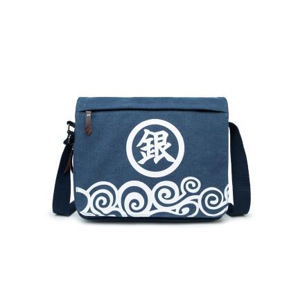 Anime GINTAMA Cosplay Anime around the birthday gift travel Messenger bag men and women shoulder bag
