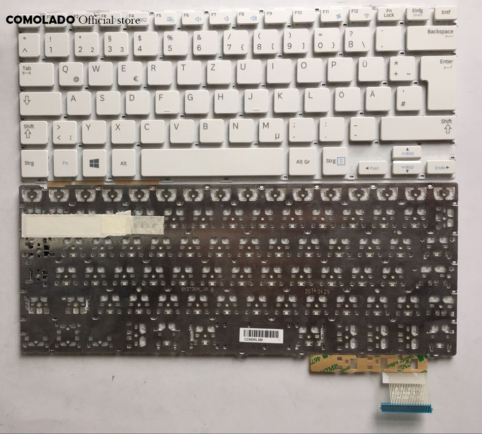 GR Germany Keyboard for Samsung NP915S3G 905S3G NP905S3G 910S3G NP910S3G 915S3G white keyboard layout