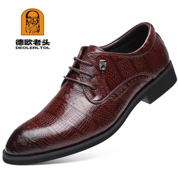 2019 New Quality Microfiber Leather Men's Shoes Spring Soft Man Dress Shoes Extra size 45 46 47 48 Point Toe Man Leather Shoes