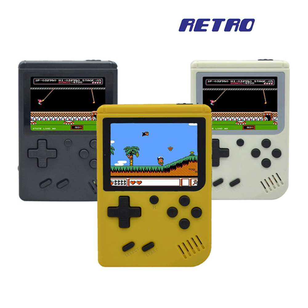 Children Retro Mini Portable Handheld Game Console Players 3.0 Inch Black 8 Bit Classic Video Handheld Game Console RETRO 07