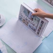 1 упаковка, 10 листов, А4, прозрачные обложки для книг для школьников, защита книг, угол среза, простой в использовании, безопасный материал, CPP Deli 70566