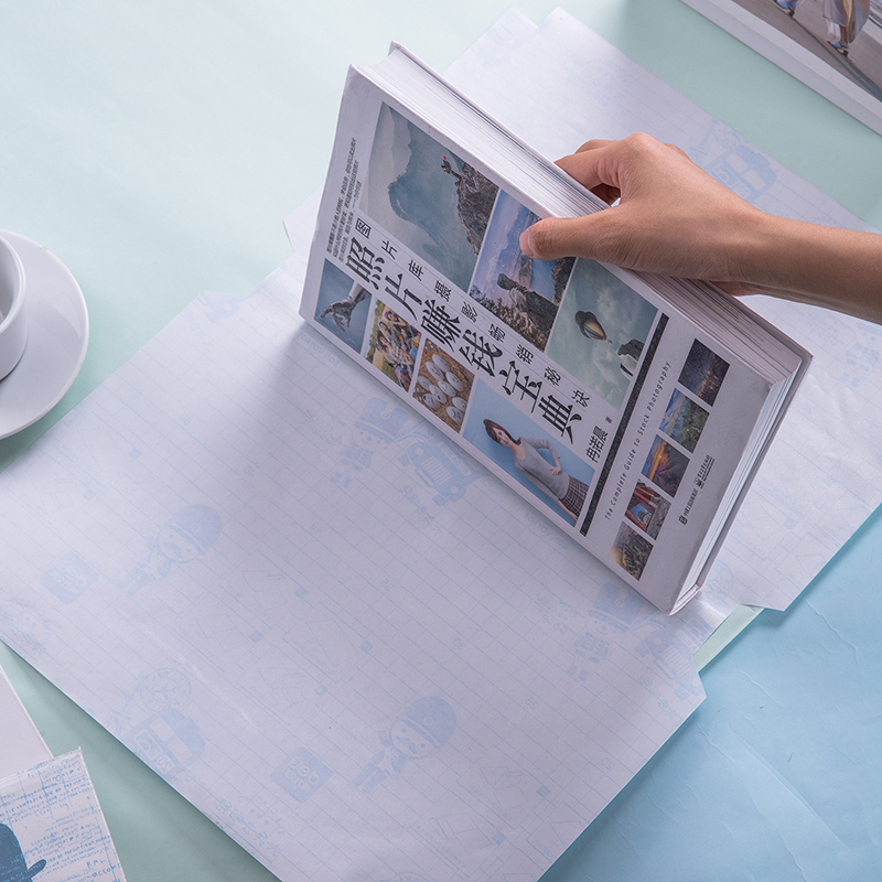 1Pack 10 Sheets A4 Transparent Book Covers For School Students Protect Book Cut Angle Easy To Use Safety Material CPP Deli 70566