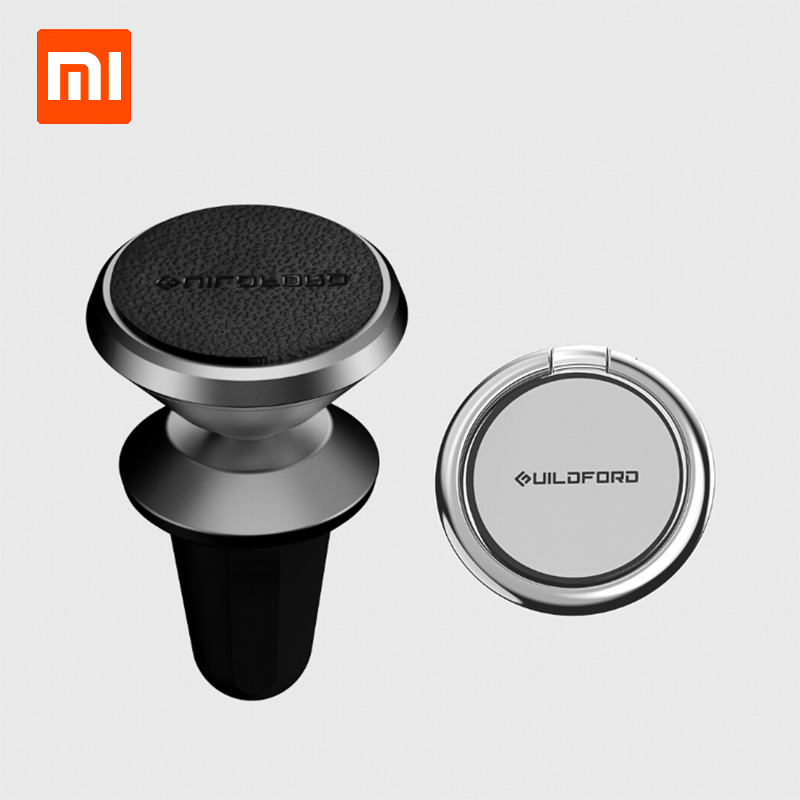 Original xiaomi Mijia Guildford Car Magnetic Phone Holder and 360 Rotation Metal Ring Mount Stand for iPhone XS  Xiaomi HonorOriginal xiaomi Mijia Guildford Car Magnetic Phone Holder and 360 Rotation Metal Ring Mount Stand for iPhone XS  Xiaomi Honor