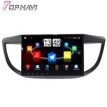 """Free Shipping 10.1"""" Quad Core Android 4.4 Car PC Stereo GPS For CRV 2012 For Honda With Radio16Gb Flash Mirror Link Without DVD"""