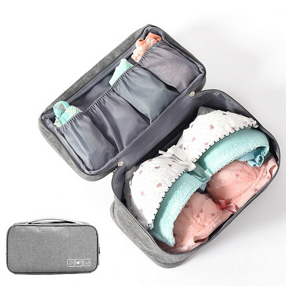 Casual Travel Bag Women's Bra Socks Multi-function Storage Handbag Solid Color Fashion Duffle Bag