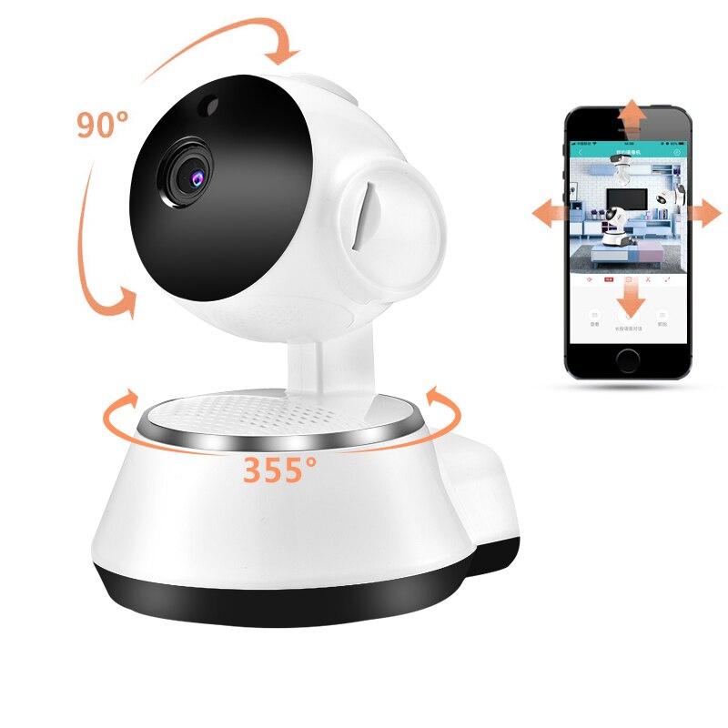 Casa de seguridad WiFi cámara inalámbrica inteligente Cámara IP Wi-Fi registro de Audio cámara de vigilancia CCTV HD Mini Monitor de bebé
