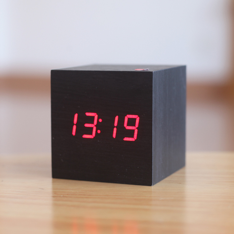 Modern Bedside Alarm desk Clock Luminous Digital Watch