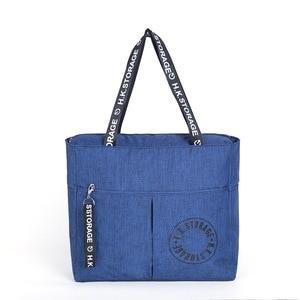 Image 5 - Waterproof Big Travel Bag Foldable Women Duffle Bag Travel Organizer Overnigh Bags Portable Shoulder Weekend Bags Business Tote