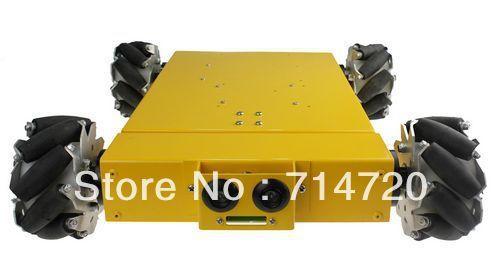 Nexus 4WD Mecanum wheel mobile chassis for Arduino robot kit on sale