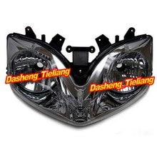 Motorcycle Headlamp for CBR 600 F4i 2001 2002 2003 2004 2005 2006 2007, Black Front Motor Headlights Lighting Light Lamp