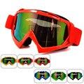 Red Motocicleta óculos de Motocross Moto Cross Country Flexível Goggles Tinted UV Dos Óculos de proteção