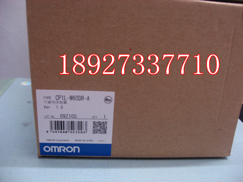 [ZOB] New original omron Omron programmable logic controller relay CP1L-M60DR-A factory outlets [zob] 100% new original omron omron proximity switch e2e x10d1 n 2m