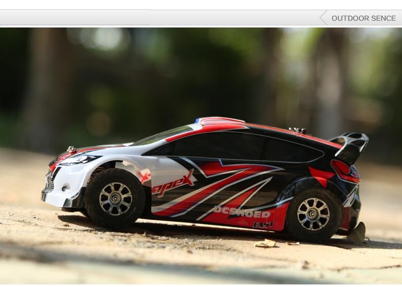 A949  1:18 4WD Rally Car 2.4Gh  100m Control distance 50Km/H Speed High Quality Car Body With Transmitter autogen rally team 50%