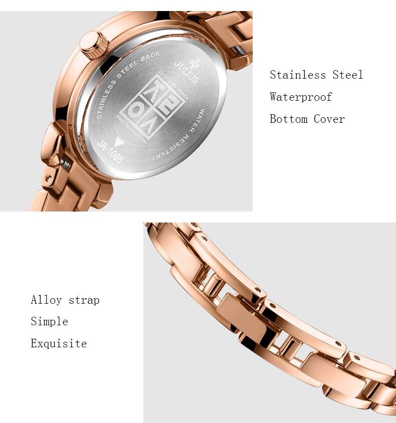 dwaterproof água relógios quartzo pulseira relógios montre femme