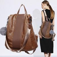 New Real Cow Leather Luxury Fashion Genuine Leather Backpack Women Natural Soft Casual Shoulder Large Bags