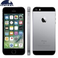 """Разблокированный Apple iPhone SE 4 аппарат не привязан к оператору сотовой связи для мобильных телефонов на базе iOS A9 двухъядерный процессор, 2G Оперативная память 16 GB/64 GB Встроенная память 4,"""" 12.0MP смартфон с отпечатками пальцев"""