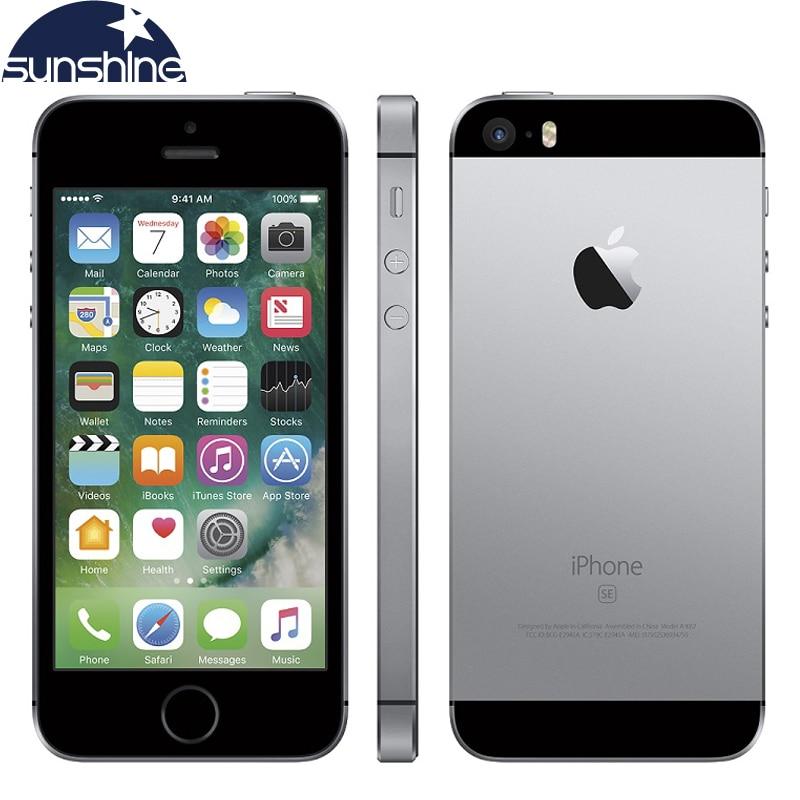 Фото. Разблокирована оригинальный Apple iPhone SE 4G LTE мобильный телефон iOS A9 Dual Core 2G Оперативная