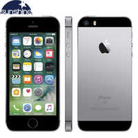 "Desbloqueado Original Apple iPhone 4G LTE teléfono móvil iOS A9 Dual Core 2G RAM 16/64GB ROM 4,0 ""12.0MP huella dactilar teléfono inteligente"