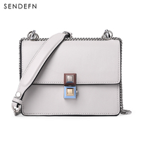 SENDEFN Brand Crossbody Bag Casual Shoulder Bags Women Small Fashion Split Leather New Messenger Bags Ladies Bag 7073 68