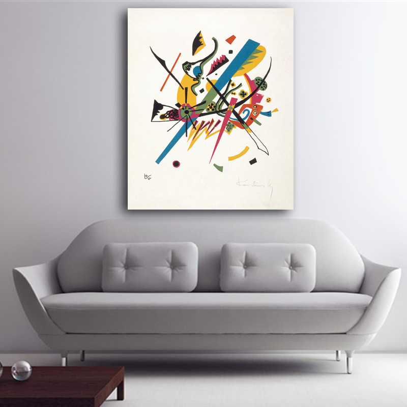 Wassily kandinsky 1922 1922 plate 1 from the portfolio for Small wall art decor