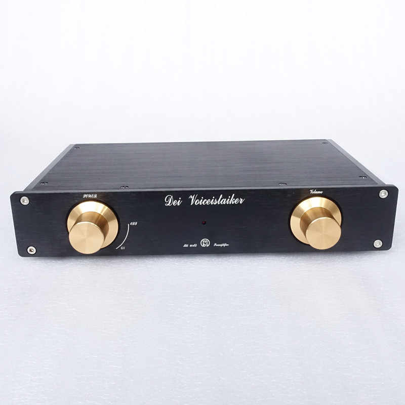 Weiliang Audio Lihat MBL6010D Preamplifier Desain Hitam Emas Collector 'S Edition