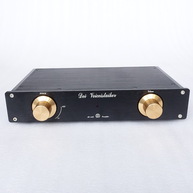 WEILIANG AUDIO Refer To MBL6010D Preamplifier Design Black Gold Collector's Edition
