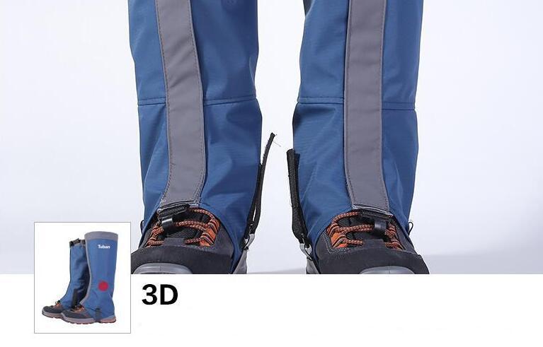 New Waterproof Outdoor Hiking Trekking Climbing Snow Legging Gaiters Men Women Cycling Shoe Cover Skiing Boots Gaiters