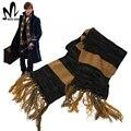 Animales fantásticos y dónde Encontrarlos Newt Scamande cosplay accesorios de Halloween cosplay Newt Scamande bufanda de invierno bufanda de lujo