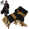Fantastic Beasts and Where to Find Them Newt Scamande cosplay accessory Halloween cosplay Newt Scamande scarf winter fancy scarf