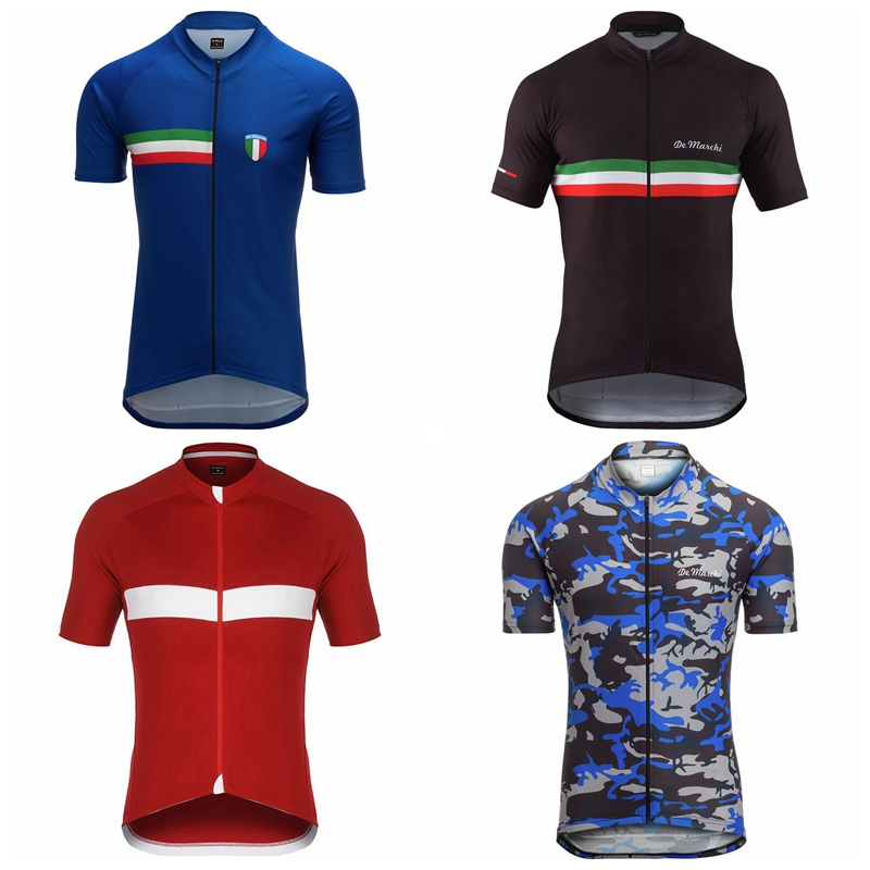 2019 DE MARCHI men cycling jersey clothes bicycle clothing quick dry breathable rode racing bike maillot ropa ciclismo triathlon