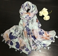2015 brand design winter cotton scarf women new design floral silk shawl excellent quality lady scarves
