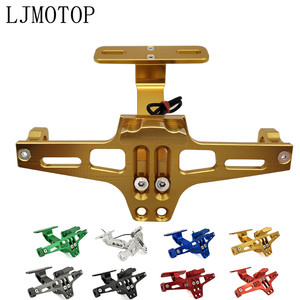 Image 1 - Soporte para marco de placa de matrícula para motocicleta CNC, LED para DUCATI Hypermotard 796 821 939 950 ST4S 1100 748, accesorios