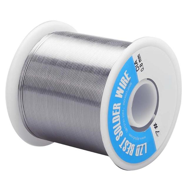 100M Solder Wire 500g 0.8mm Diam Clean Rosin Core Welding Tin Lead Solder Iron Wire Rosin Core 3% Flux Reel Soldering Tools 5