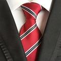 Moda para hombre corbatas business casual corbata de poliéster de seda empate Gravata jacquard tela escocesa corbatas para hombre Vestidos corbata B106