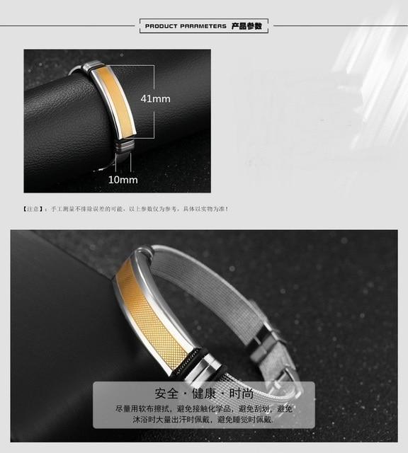 Купить мужской винтажный браслет из титановой стали регулируемый картинки