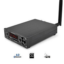 AIYIMA Amplificador de potencia Digital Hifi de escritorio con Bluetooth 4,0, 160W + 160W, compatible con USB, SD, MP3, WMA, APE, FLAC, WAV y WAVE, M 98E TDA7498E