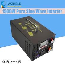Reliable Peak 1500W Pure Sine Wave OFF Grid Inverter DC12V/24V to AC220V Power Inverter Converter Houseuse Solar System