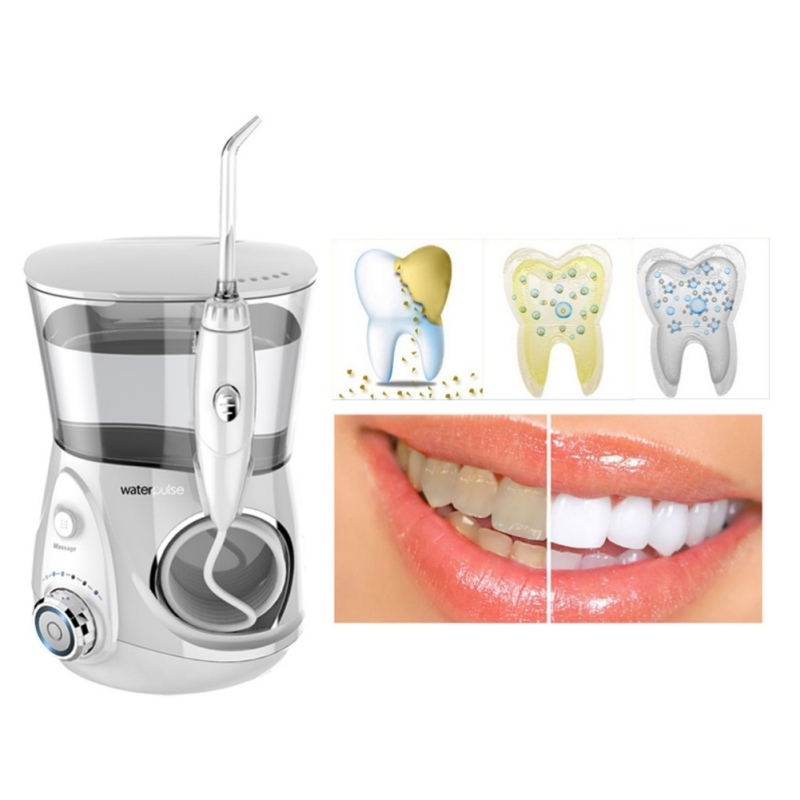 Teeth Whitening Dental Water Flosser Professional Oral Irrigator Dental Floss Irrigation Clean Massage Tooth Floss Oral Hygiene цена в Москве и Питере