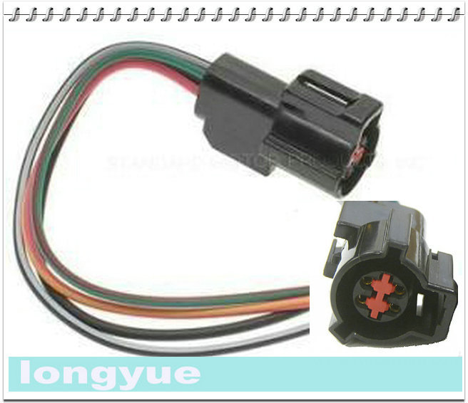 Longyue 2pcs Fuel Pump Amp Oxygen O2 Sensor Harness Pig Tail Connectors For Ford Cars Trucks 89 95 6