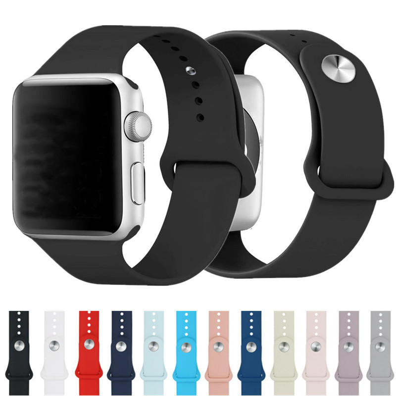 ASHEI New Design Sport Strap For Apple Watch Sport Band Silicone 42mm Soft Watchband Series 3 For Iwatch Bands 38mm Series 1/2 sport silicone band strap for apple watch nike 42mm 38mm bracelet wrist band watch watchband for iwatch apple strap series 3 2 1